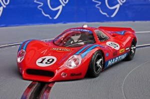 Ford P68 Martini Red #19