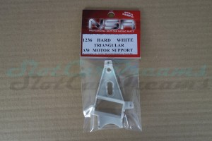 NSR Motorhalter AW Triangular Hard White