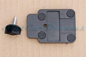 Carrera 124 Autobox Platte und Schraube