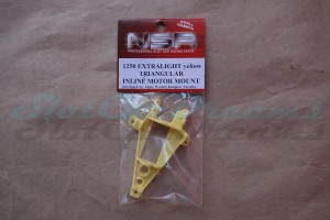 NSR Motorhalter IL Triangular Exttralight Yellow