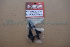 NSR Motorhalter IL Triangular Medium Black