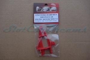 NSR Motorhalter IL Triangular Extra Hard Red