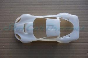 NSR Corvette C6.R Karosserie/Body White