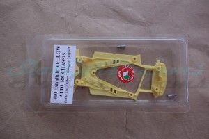 NSR Audi R8 Chassis Triangular EVO2 Exttralight Yellow