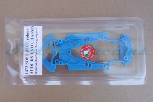 NSR Audi R8 Chassis Triangular EVO2 Soft Blue