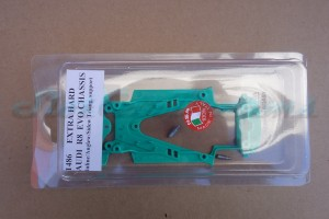 NSR Audi R8 Chassis Triangular EVO2 Extra Hard Green