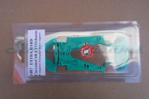 NSR Corvette C6.R Chassis Triangular EVO2 Extra Hard Green