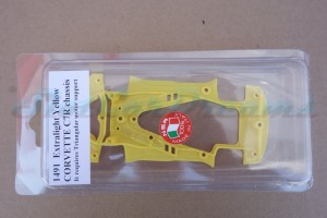 NSR Corvette C7.R Chassis Triangular EVO Exttralight Yellow