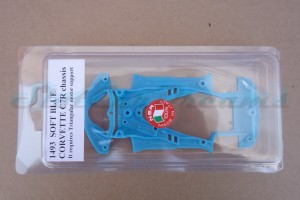 NSR Corvette C7.R Chassis Triangular EVO2 Soft Blue