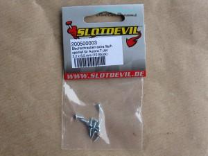"""Slotdevil Blechschrauben Flachkopf 2,2 x 6,5 mm => """"Set"""""""