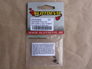 "Slotdevil Madenschraube M2 x 2 mm Innensechskant 0,9 => ""Stück"""