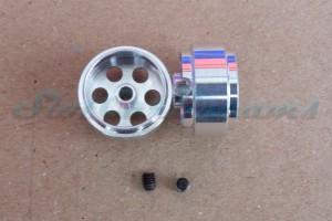 """Slotdevil Stegfelge 15,9 x 8,5 mm für Achse 2,38 mm ALU => """"Stück"""""""