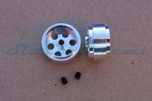 """Slotdevil Stegfelge 16,9 x 8,5 mm für Achse 2,38 mm ALU => """"Stück"""""""