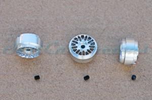 """Slotdevil Stegfelge BBS 16,9 x 9 mm für Achse 2,38 mm ALU => """"Stück"""""""