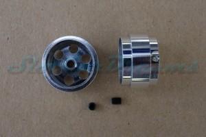 """Slotdevil Stegfelge 16,9 x 10 mm für Achse 2,38 mm ALU => """"Stück"""""""