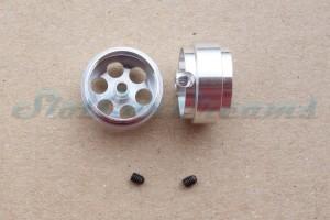 """Slotdevil Stegfelge 17,9 x 9,5 mm für Achse 2,38 mm ALU => """"Stück"""""""