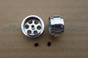 """Slotdevil Stegfelge 18,5 x 9,5 mm für Achse 2,38 mm ALU => """"Stück"""""""
