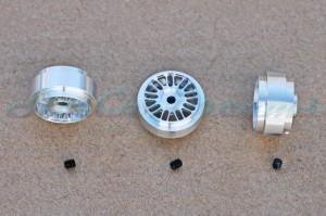 """Slotdevil Stegfelge BBS 18,5 x 9,5 mm für Achse 2,38 mm ALU => """"Stück"""""""