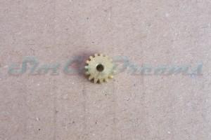 """Slotdevil Motorritzel 8,5 mm 15 Zähne Messing => """"Stück"""""""