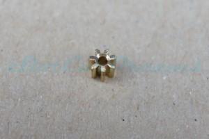 """Slotdevil Motorritzel IL 4,5 mm 7 Zähne Messing => """"Stück"""""""