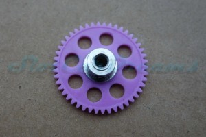 Slotdevil Spurzahnrad Kunststoff 46 Zähne für 3 mm