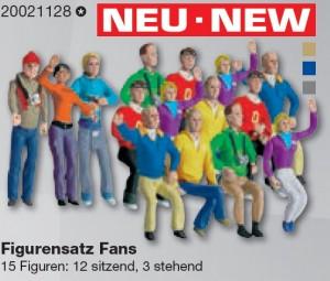 Figurensatz Fans