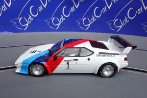 "SlotCarDreams Tuning Carrera BMW M1  ""Normal"" => VORLAGE"