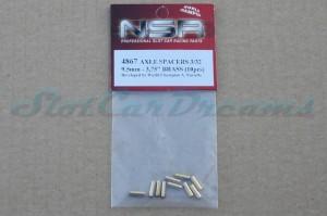"NSR Achsdistanzscheibe 9,5 mm 3/32 => ""Stück"""