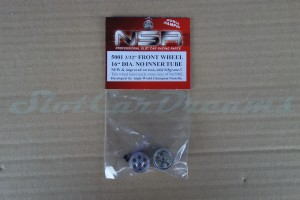 "NSR Stegfelge 16 x 8 mm für Achse 2,35 mm ALU => ""Paar"""
