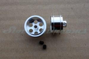 "NSR Stegfelge Airsystem 16 x 8 mm für Achse 2,35 mm ALU => ""Paar"""