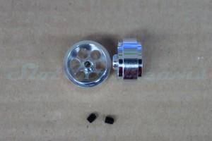"NSR Stegfelge 17,3 x 8 mm für Achse 2,35 mm ALU => ""Paar"""