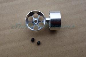 """NSR Flachfelge 16,8 x 8 mm für Achse 2,38 mm Fly Truck Vorne => """"Paar"""""""