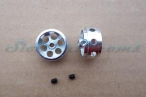"""NSR Stegfelge 16,5 x 8 mm gelocht für Achse 2,35 mm ALU => """"Stück"""""""