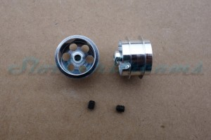 "NSR Stegfelge Airsystem 16 x 10 mm für Achse 2,35 mm ALU => ""Paar"""