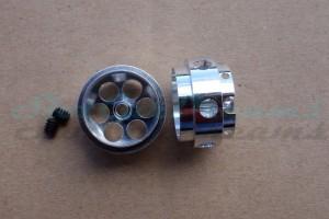 "NSR Stegfelge 17,3 x 10 mm für Achse 2,35 mm ALU => ""Paar"""