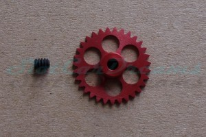 NSR Spurzahnrad 31Z Ø17,5 mm
