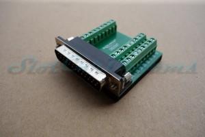 Adapter Sub-D 25-polig
