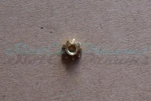 "NSR Motorritzel IL 5,5 mm 9 Zähne Messing => ""Stück"""