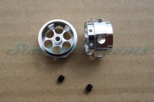 """NSR Stegfelge 17 x 10 mm für Achse 2 mm ALU => """"Stück"""""""