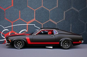 Ford Mustang 1969 Trans Am Black Edition
