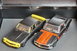 Mustang + Camaro Trans Am Black Limited Edition