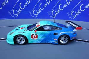 "SlotCarDreams Tuning Scalextric Porsche 991 GT3 ""Race"" => VORLAGE"