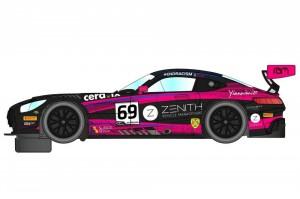 Mercedes AMG GT3 British GT 2020 #69