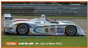 Audi R8 LMP Le Mans 2003 #6