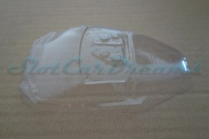 Carrera 124 Corvette C6R Lexan Scheibe