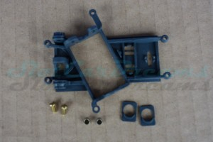 "Slot.it Achs / Motorhalter AW EVO 6 hard Offset 0,5 mm => ""Set"""