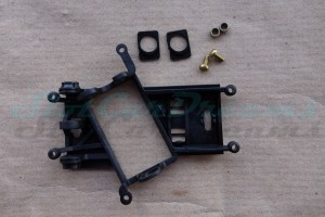 "Slot.it Achs / Motorhalter AW EVO 6 hard Offset 0,0 mm => ""Set"""