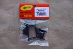"Slot.it Achs / Motorhalter AW EVO 6 Offset 0,0 mm => ""Set"""
