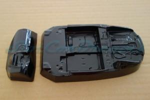 Carrera 124 Audi R8 Lexan Inlet + Armaturen
