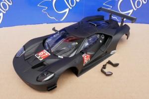 Karosserie Ford GT Schwarz